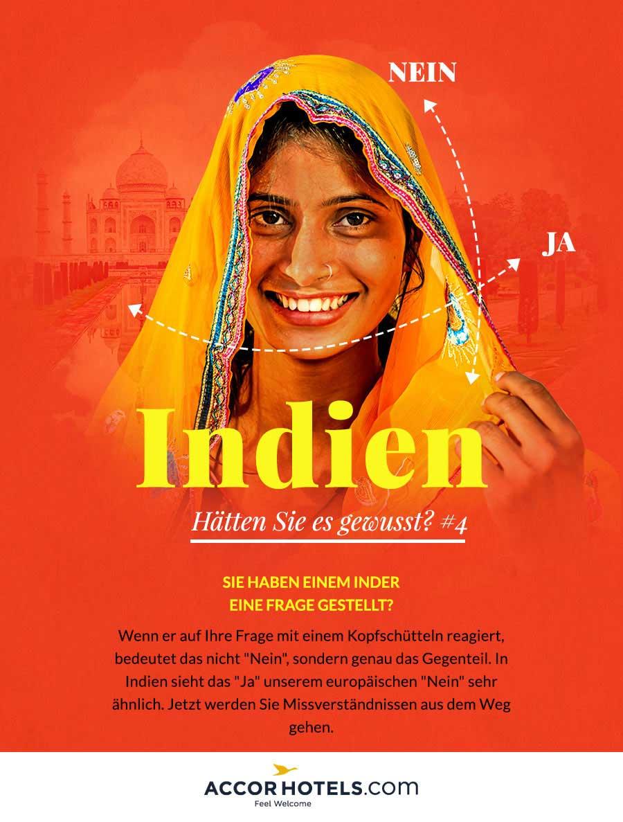 Indien frage gestellt