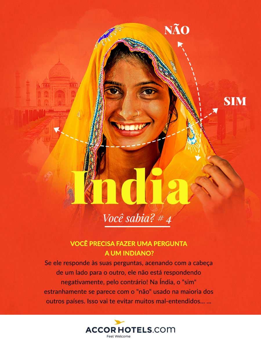india cabeca contrario sim nao