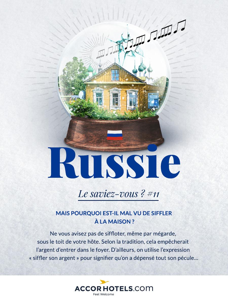 siffler en Russie
