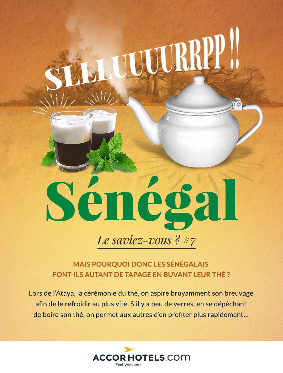 le thé au Sénégal