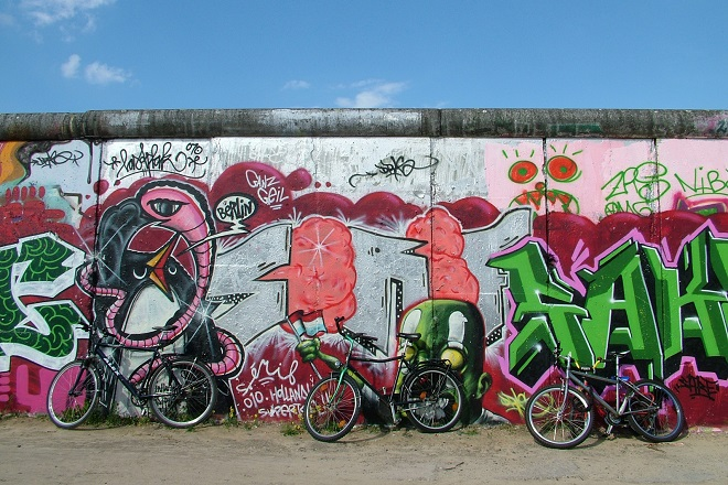 Die Mauer in Berlin