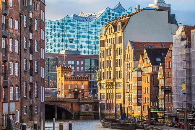 Die Elphilharmonie in Hamburg