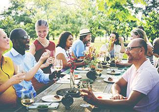 Descubra comida e bebida tradições