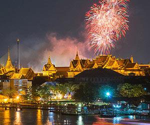 Découvrir des traditions lointaines                                        à Bangkok