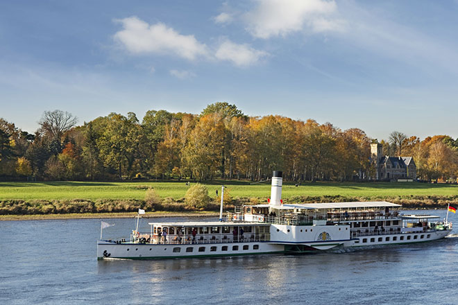 Dampfschiff Dresden