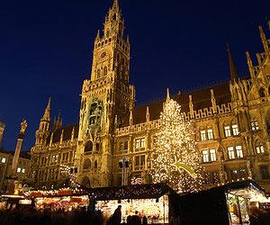 Boire du vin chaud à Munich