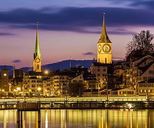 Glühwein trinken in Zürich