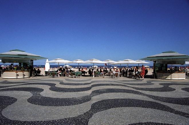 Fachada do Quiosque Ox no Rio de Janeiro