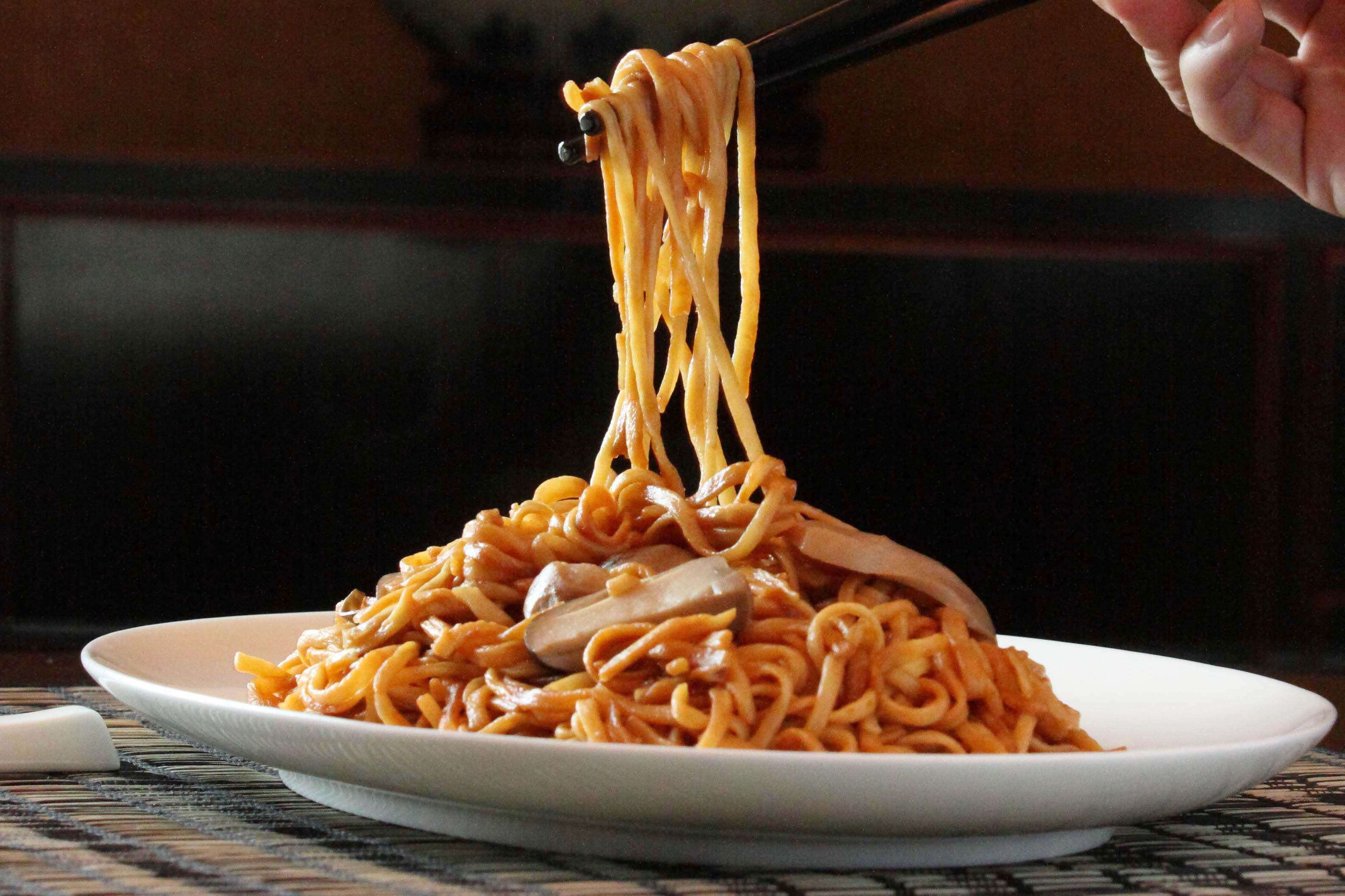 Longevity Noodles, Chinese New Year Dish, Lunar New Year Dish