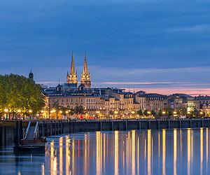 Heisse Maroni essen in Bordeaux
