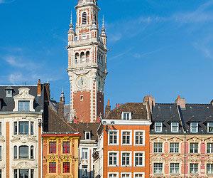 Heisse maroni essen in Lille