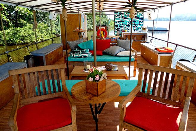Lounge da Ecobalsa (Crédito: Divulgação)