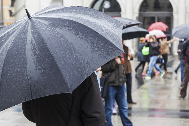Rainy days are to be expected during Edinburgh Fringe month