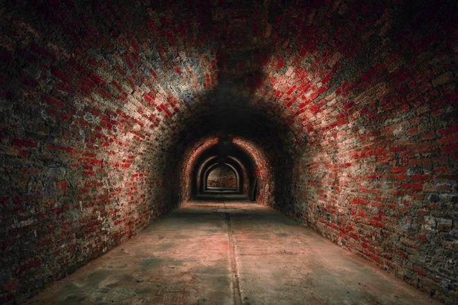 Túneis subterrâneos cheios de mistérios