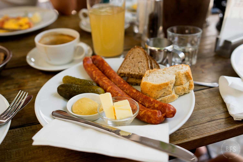 Petit-déjeuner à Berlin à l'Engelberg