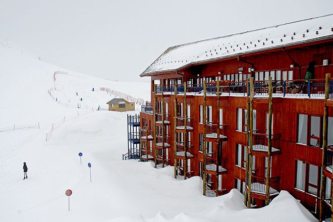 Estação de esqui no Chile (Foto: Getty Images)