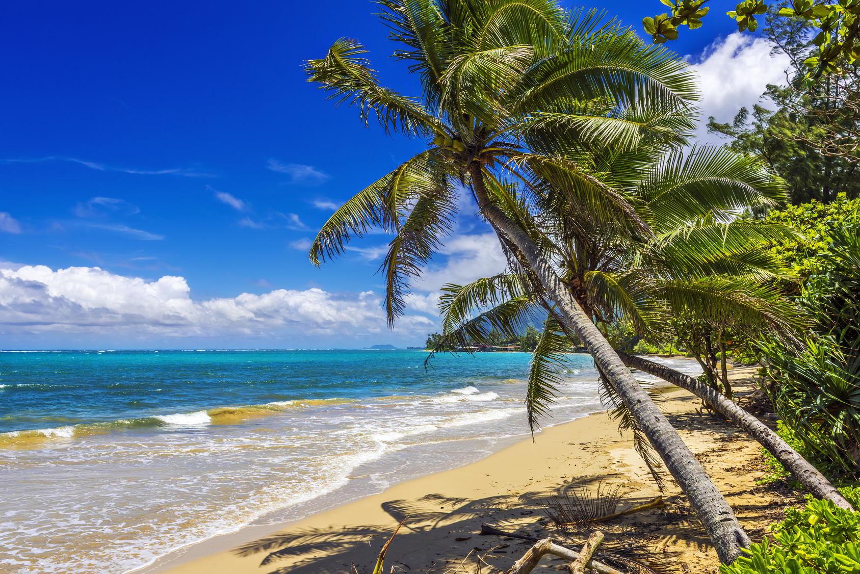 Hawaii, California