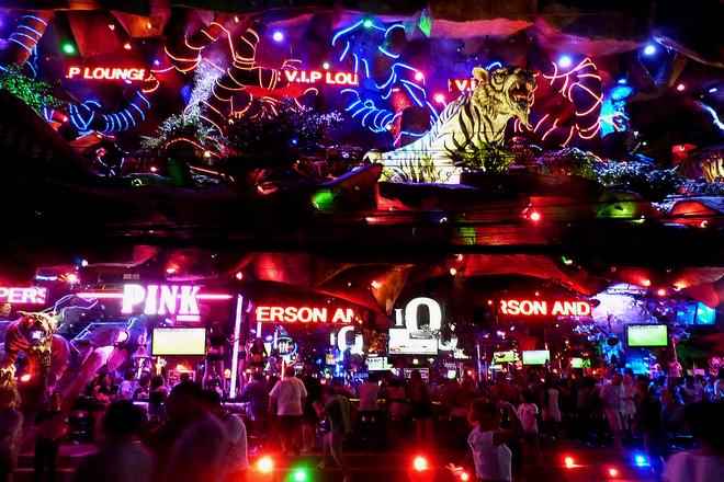 Nightclub in Bangla Road, Patong