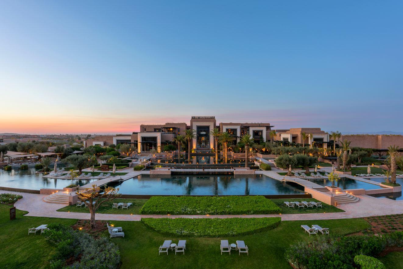 hotel spa marrakech