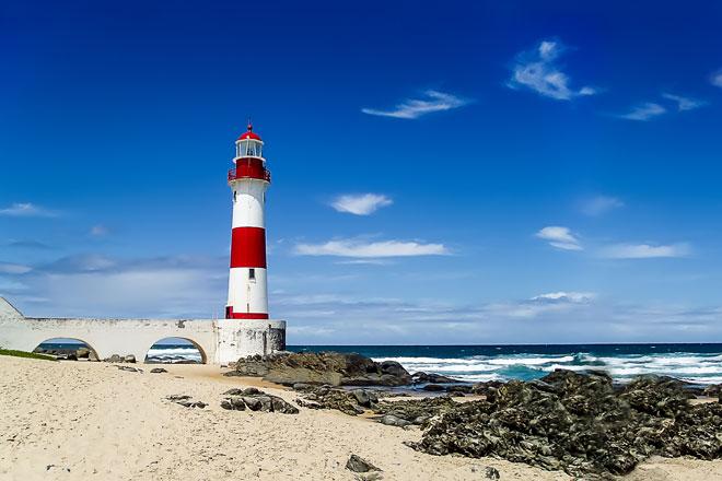 Farol da Praia de Itapuã(Foto: Getty Images)