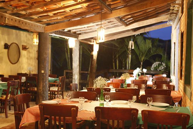Espaço do restaurante Feijão com Tranqueira (Foto: Feijão com Tranqueira)