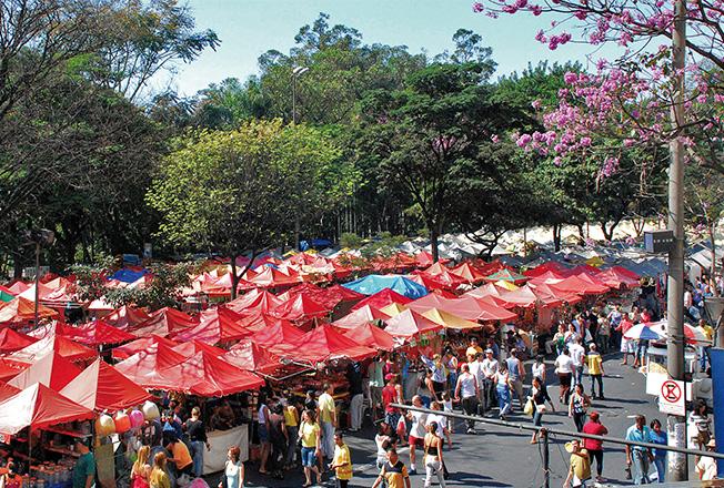 Feira da Afonso Pena (Foto: Portal PBH)