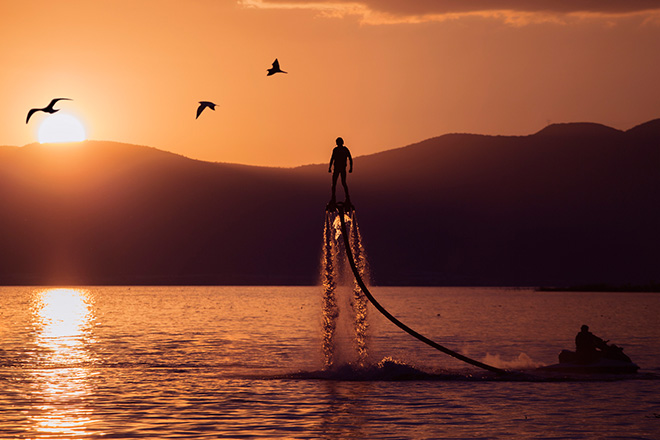 Flyboard (Foto: Getty Images)