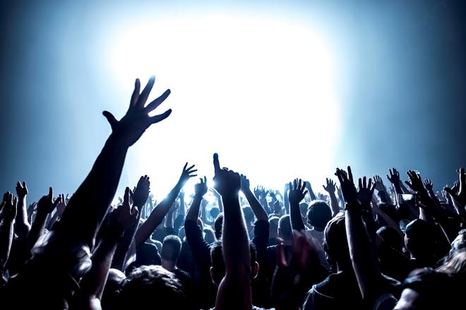 Folla ad un concerto