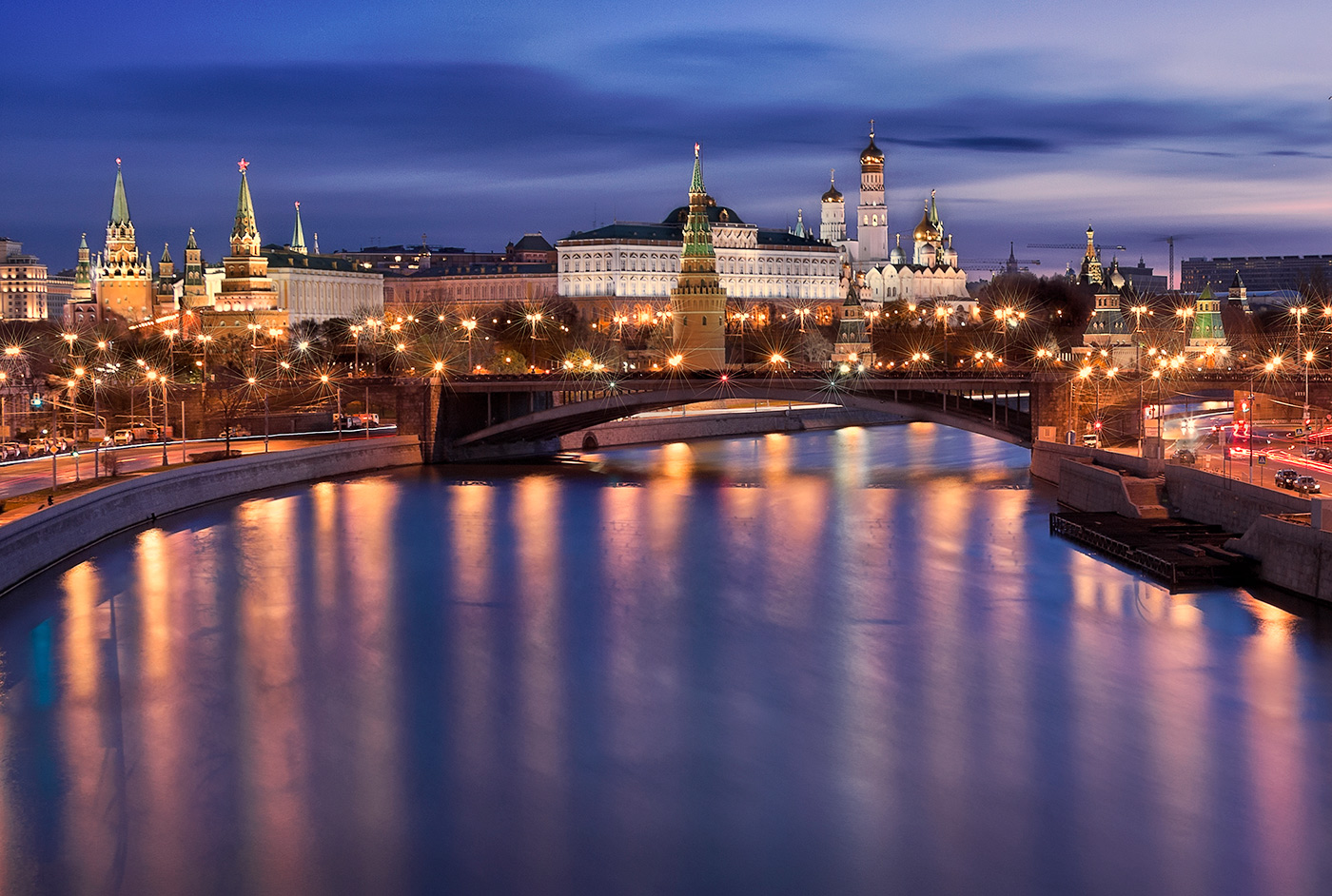 Вид на Кремль, Москва