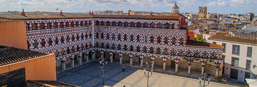 Plaza en Badajoz