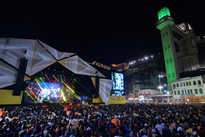 Festas  animam o Réveillon em Salvador (Foto: Prefeitura de Salvador)