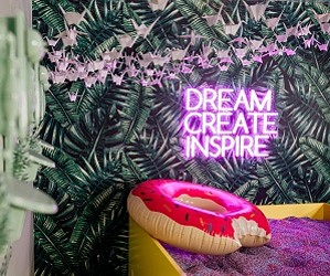 interactive instagram installation