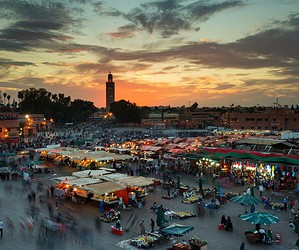 Nouvel an à Marrakech
