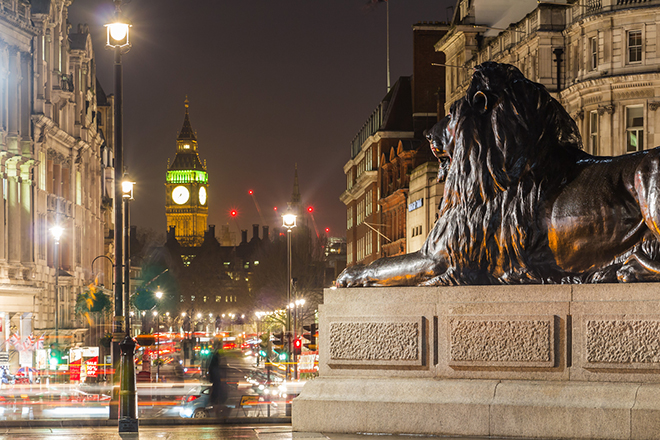 Silvester in London