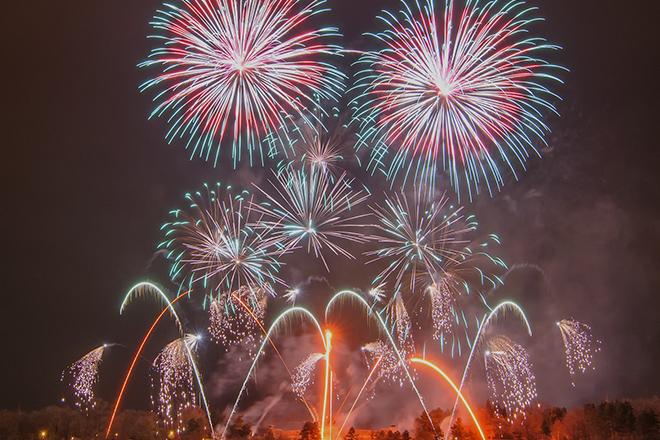 Feuerwerk Prag
