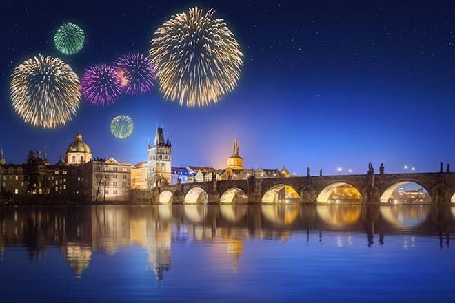 Silvester in Prag