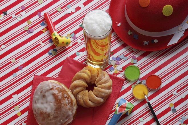 Carnaval eten en drinken