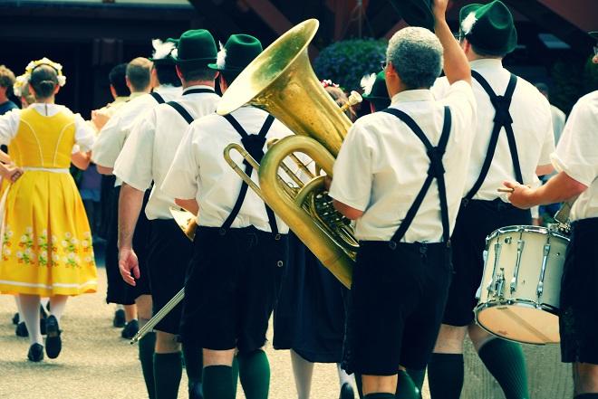 Carnavalsvierders in Duitsland