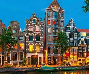 Me réchauffer auprès du feu à Amsterdam