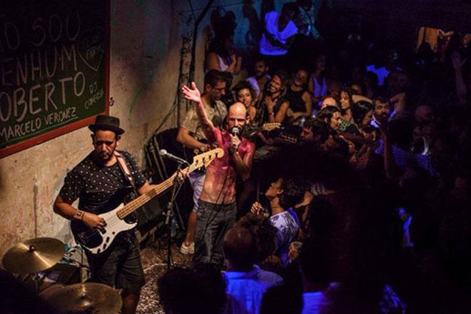 Show na Gruta (Foto: Dila Puccini)