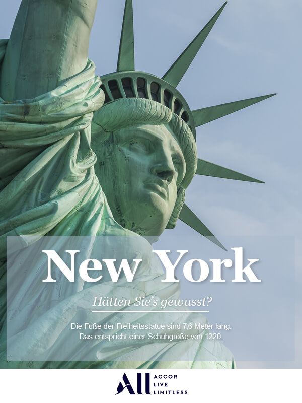 Infografik Accor New York