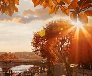 Romantischer Ausblick auf Paris