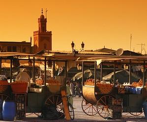 Tête à tête à Marrakech