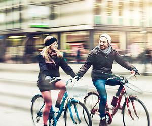 Los mejores destinos para viajar en bici en pareja