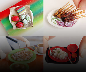 Singapore Food Art: Small Country, Big Appetite