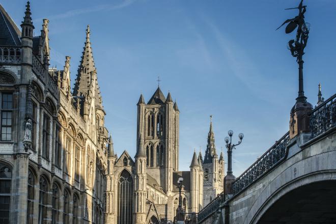 Historische architectuur in Gent