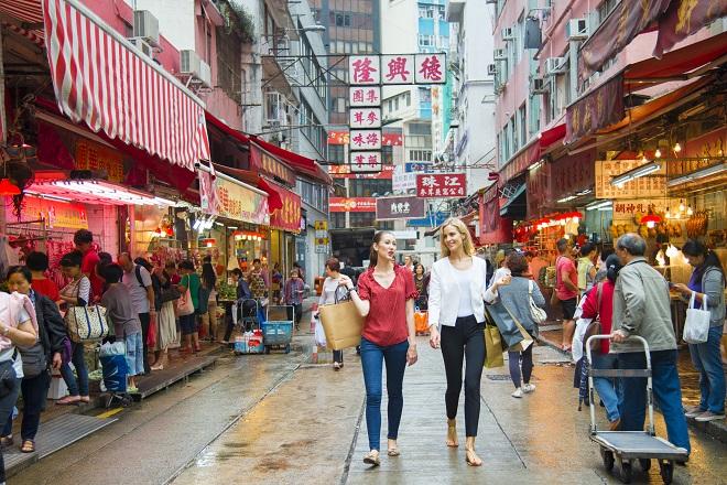 Noël au bord de l'eau à Hong Kong