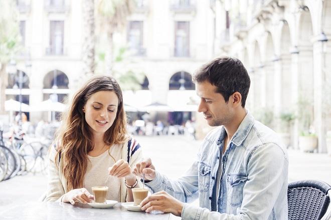caffé in piazza