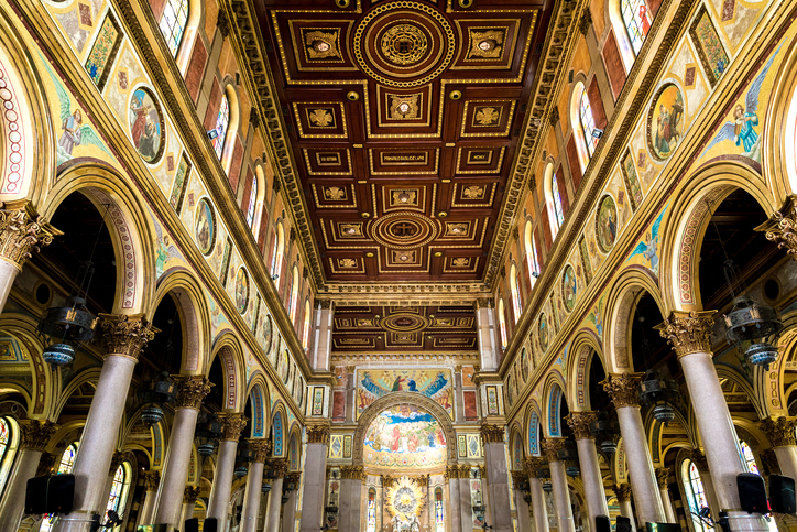 Basílica Santuário de Nazaré, em Belém (Getty Images)