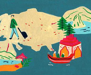 5 ideas de viajes para una persona lejos de las preocupaciones